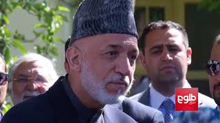 Karzai Holds Talks With Parties, Following Govt Stalemate