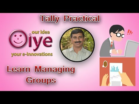 How to Create Groups in Tally
