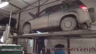 Катализатор на  Suzuki Grand Vitara. Катализатор на авто  Suzuki Grand Vitara ремонт и замена в СПБ