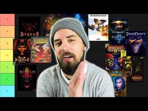 Blizzard Games Tier List