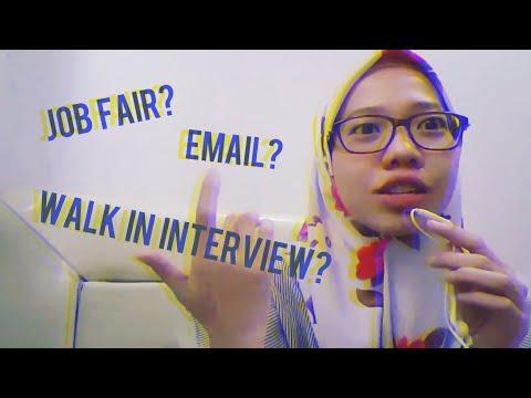Nyari Kerja di Jakarta! Job Fair, Lewat Email, Atau?? [ STORY #2 ]