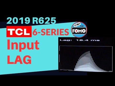 2019 TCL 6 Series TV Review: Input Lag Test