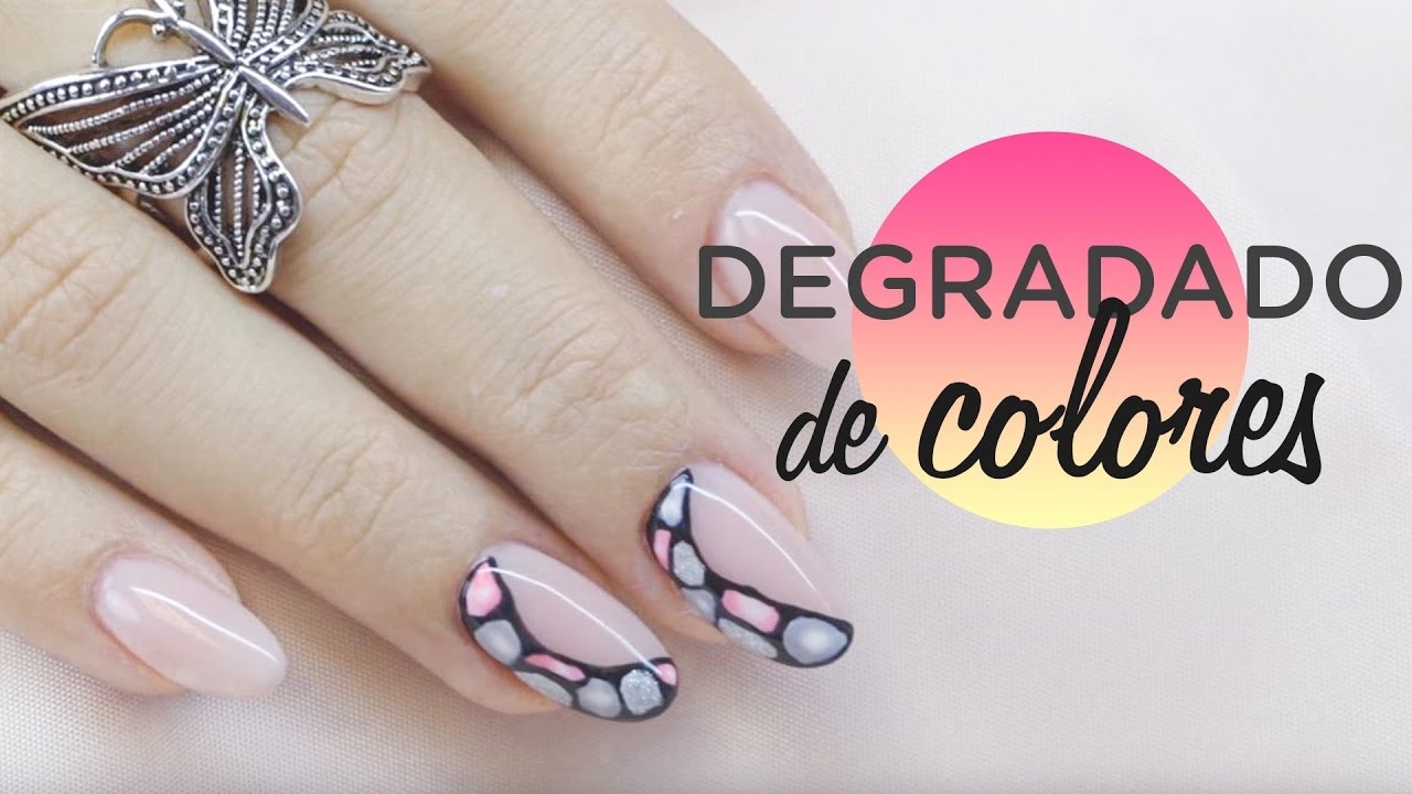 Degradado de colores con esmalte permanente | Tutorial ...
