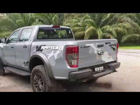 Ford Ranger Raptor: Delinquent Behaviour!