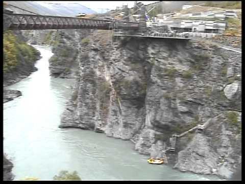 Tatiana Limanova Kawarau Bridge Bungee Jump