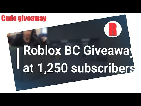 Roblox Code Giveaways Roblox Codes Giveaway Youtube