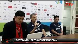 Post Match Press Conference Madura United vs Mitra Kukar