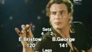 Eric Bristow v Bobby George - 1980 Embassy Darts - Final Leg