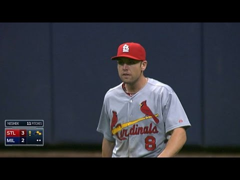 Bourjos saves a run with a great catch