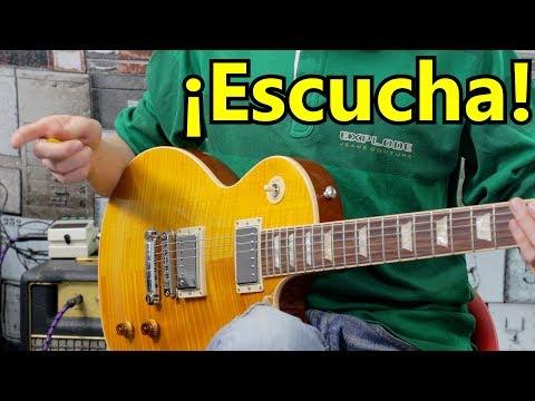 Asi Suena Una Guitarra Gibson Les Paul Standard