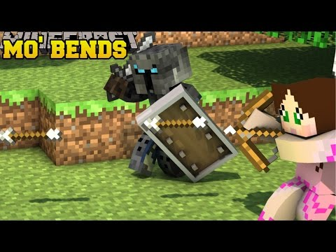 Thumbnail: Minecraft: MO' BENDS (EPIC PLAYER ANIMATIONS & MOBS!) Mod Showcase