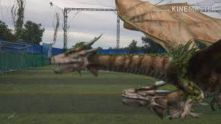 Strange Animals Want to Kill Mr. Sreng At Football Sport