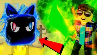 *RARE* SUPERCHARGED MIDNIGHT KITTY ELITE PET IN ROBLOX NINJA LEGENDS
