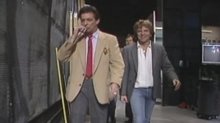 Behind the scenes of the Morton Downey Jr. Show