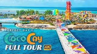 Perfect Day Coco Cay | Full Walkthrough Tour & Review | Royal Caribbean | 4K | 2020