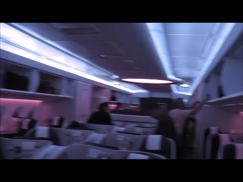 Qatar Airways QR947 Singapore (SIN) - Doha (DOH) Business Class Airbus A350-900
