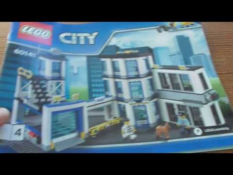 Building Lego City Police Station 60141 Part 2