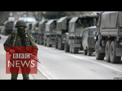 Ukraine in 'great war' with Russia - BBC News