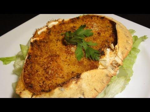 Robinfood txangurro al horno bogavante a la plancha for Cocinar un centollo