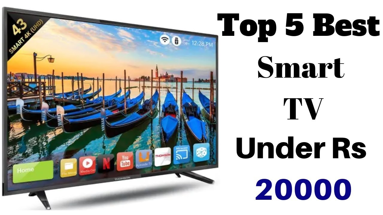 Top 5 Best Smart LED TV's Under Rs 20000 In August 2019 | 4K Smart TV | 43  Inch Display | Android TV