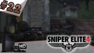 SNIPER ELITE 4 (mode difficile) - Let's play épisode #22 [PS4] Infiltration nocturne