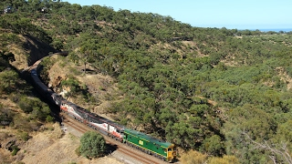 Adelaide Hills Rail Action - 20th & 21st January 2017
