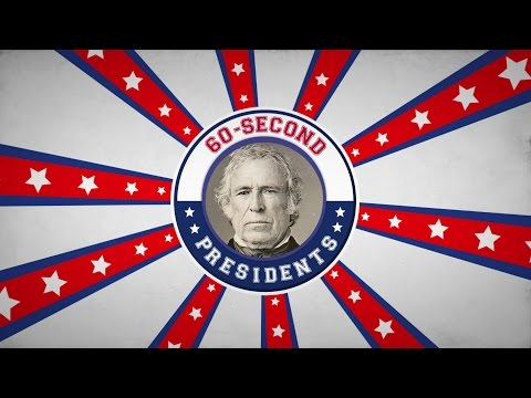Zachary Taylor | 60-Second Presidents | PBS