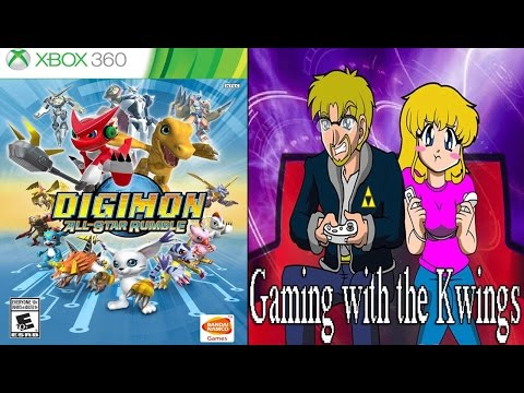 Digimon All Star Rumble (360) Gaming with the Kwings!