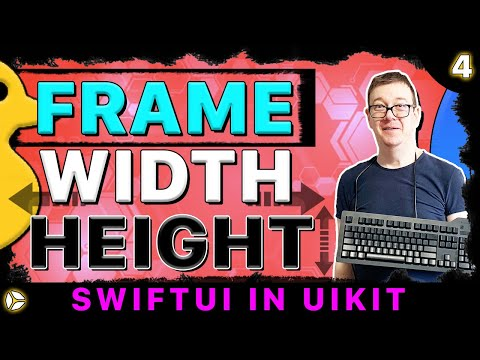 SwiftUI in UIKit - Frame, Width, Height | Swift 5, Xcode 10 thumbnail
