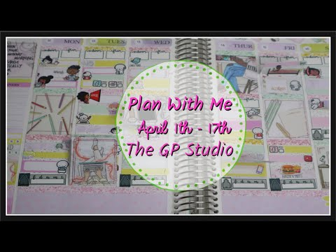 Plan With Me | 2020 Erin Condren | GP Studio // Work From Home | PlanWithAds
