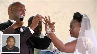 SENATOR IRUNGU KANG'ATA & MARY WAMBUI WEDDING, UHURU KENYATTA  AMONG THE GUESTS