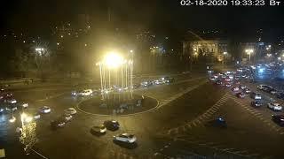 Фото Веб-камера Киев Европейская площадь  Майдан 2020 02 19