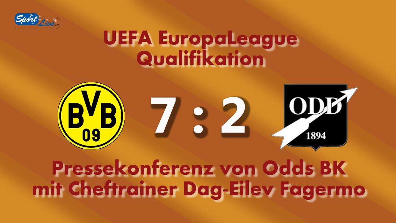 Borussia Dortmund - Odds BK: Pk mit Dag-Eilev Fagermo
