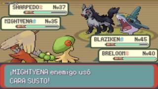 Pokémon Esmeralda-Español- Equipo Aqua en la Caverna Abisal parte 1
