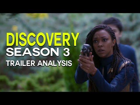 DISCOVERY Season 3 Trailer Reveal, Federation Lost? - STAR TREK: Trailer Analysis & Breakdown