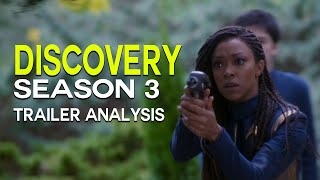 DISCOVERY Season 3 Trailer Reveal, Federation Lost? - STAR TREK: Trailer Analysis & Breakdown