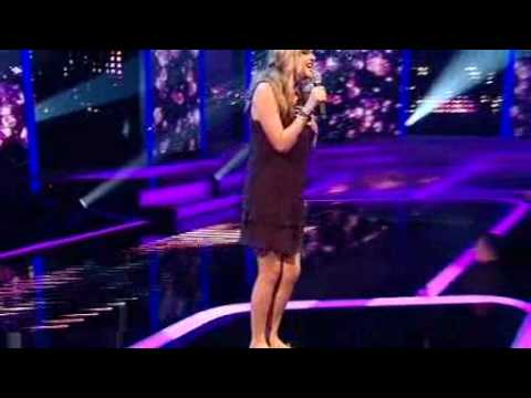 Diana Vickers  Im Not A Girl, Not Yet A Woman XFactor show