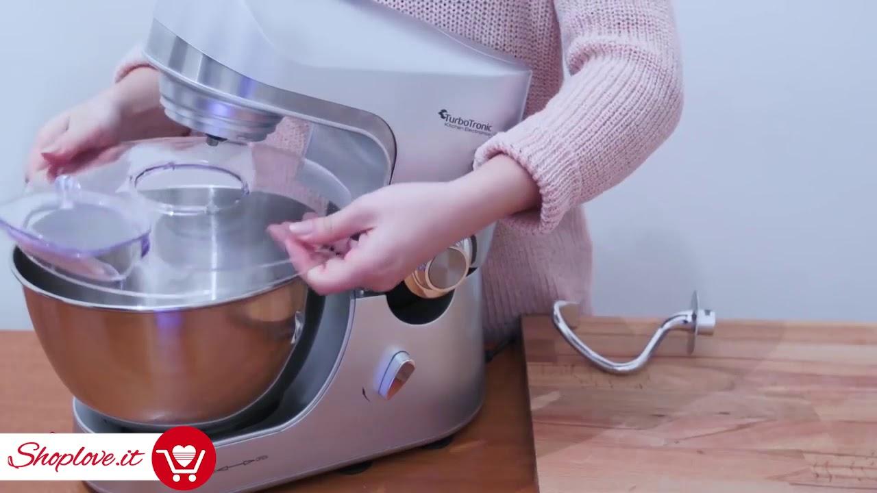Turbotronic Robot da Cucina Professionale 2000W 5 Litri | Shoplove