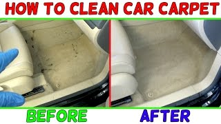 HOW TO CLEAN CAR CARPET EASY LIKE NEW