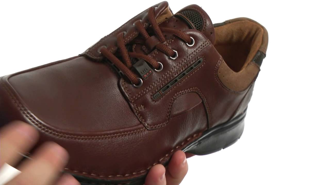 Clarks Unbend Brown Leather 7344113  HYOAKOFR6