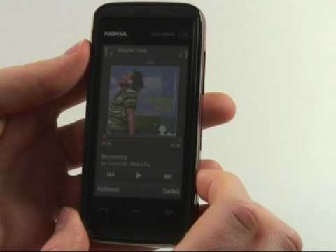 Nokia 5530 XpressMusic Test Musikplayer