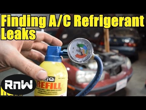 How To Find Small And Large A C Leaks Cheap And Easy