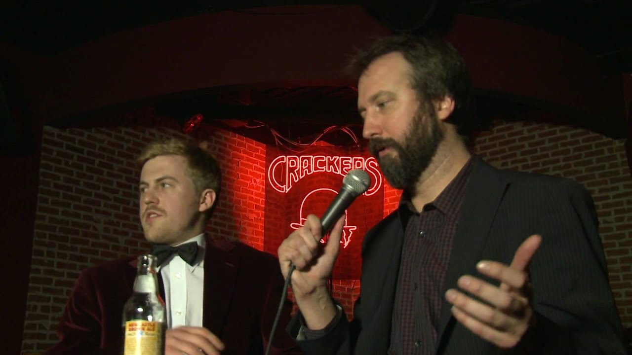 Tom Green on the El Show with Alex Moffat at Cracker's.mov ...