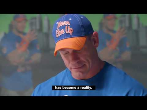 "John cena ""Never Give Up"" 