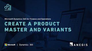 Microsoft Dynamics 365 für Finanzen und Operationen: Erstellen Sie ein Produkt, Master-und Varianten