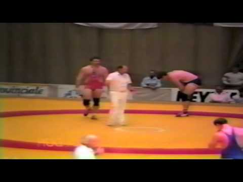 1987 Senior World Championships: 130 kg Bruce Baumgartner (USA) vs. Dan Payne (CAN)