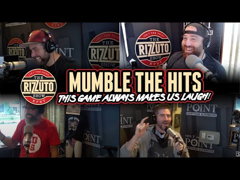 JEFF & MOON play MUMBLE THE HITS and RIZZ rocks so hard he FREAKS out the camera! [Rizzuto Show]