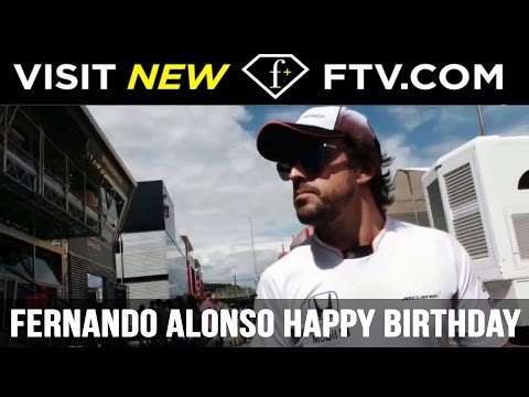 Fernando Alonso Happy Birthday - 29 July | FTV.com