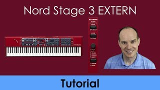 Nord Stage 3 Extern Connect Tutorial | Extern