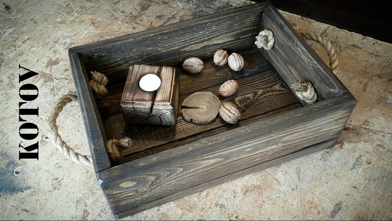 Рустикальный ящик. rustic drawer